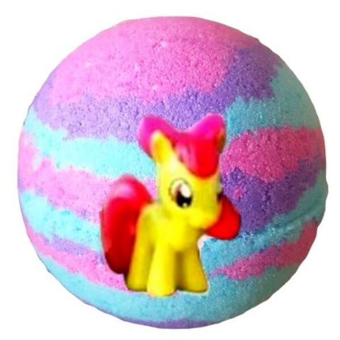 Small Pony Bath Bomb With My Little Pony Toy Figure Inside